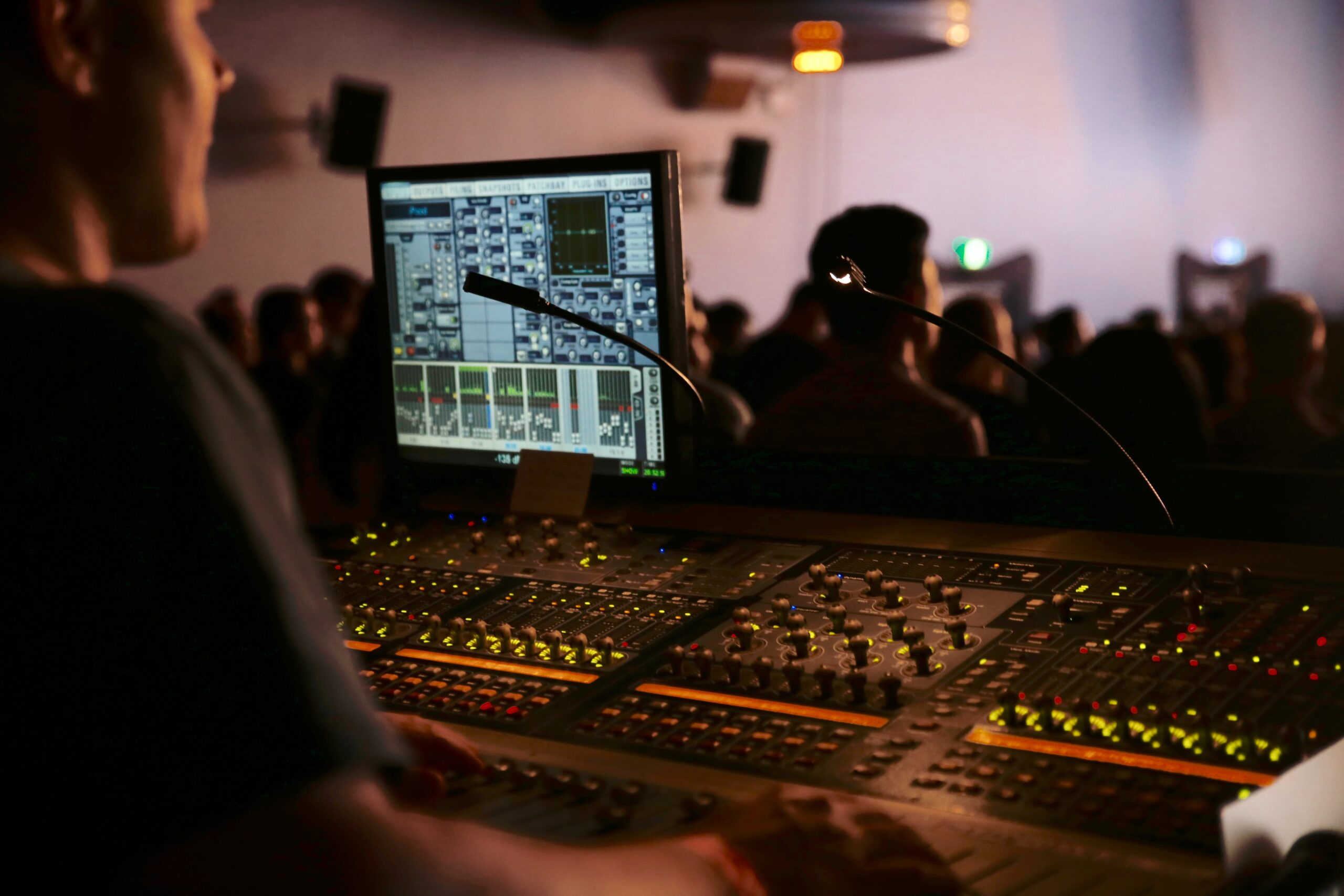 what are audio engineers and what do they do music industry