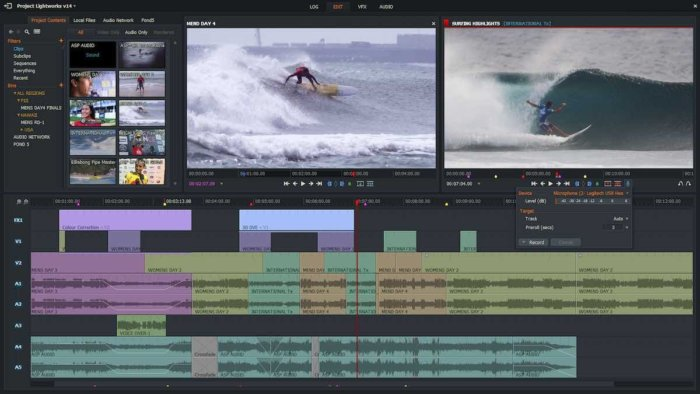 lightworks free video editing software video editing review free software