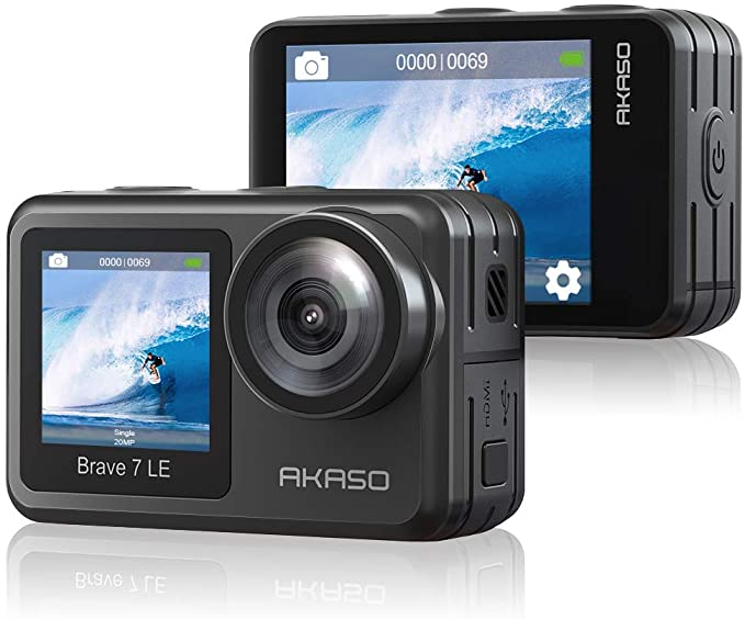 Akaso Brave 7 LE review gopro alternatives action camera review