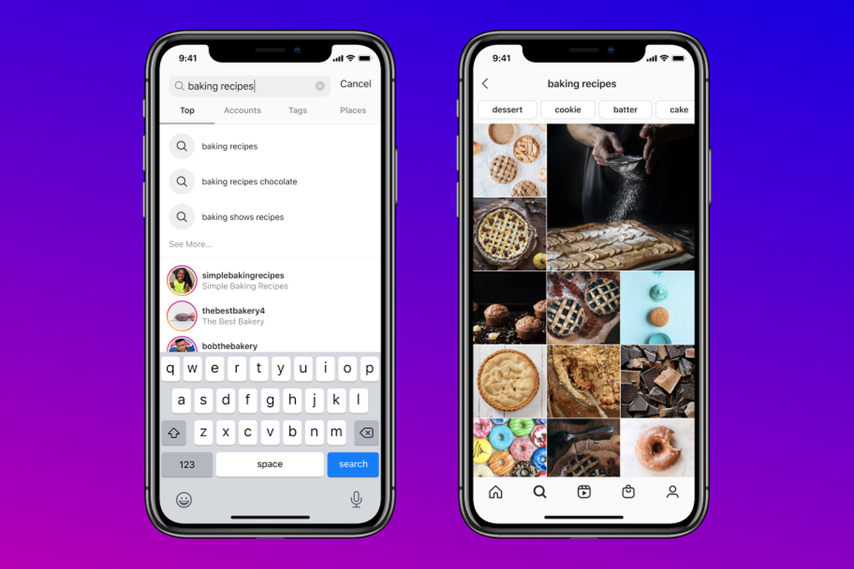 instagram keyword search feature 2020 new instagram features content creators