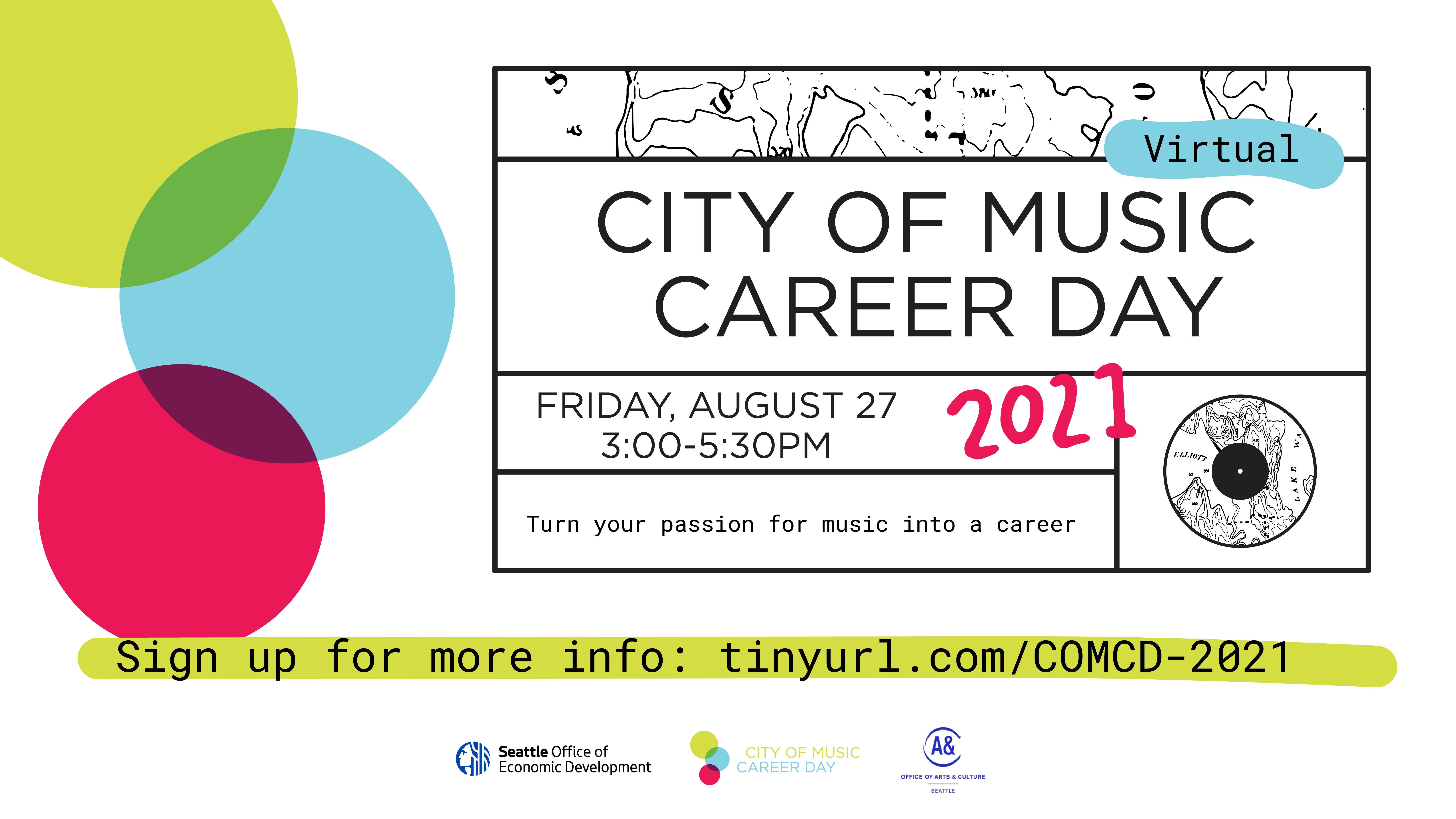 city of music career day music internships music industry networking music opportunities